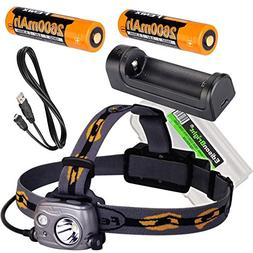 Fenix HP25R 1000 Lumen USB rechargeable CREE LED Headlamp, 2