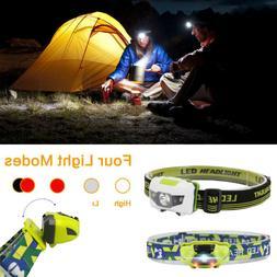 Fishing Running Waterproof Camping Light COB Headlamp Repair