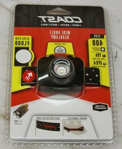 Coast FL60 21322 400 Lumens LED Wide Angle Headlamp Safety S