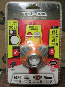 COAST FL75 Dual Color LED Headlamp - 435 Lumens - BRAND NEW!