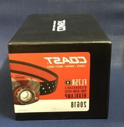 Coast FL75R Rechargeable Head Lamp 530 Lumens Pure Beam Focu
