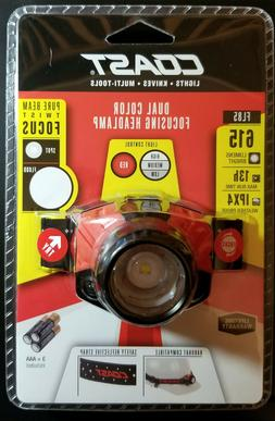 COAST FL85 615 Lumen Dual Color Pure Beam Focusing LED Headl