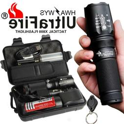 Ultrafire Flashlight 100000LM T6 LED Tactical Military Torch