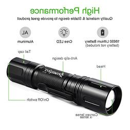 LED Flashlight Super Bright 10000 Lumens CREE XML T6 with 5