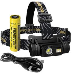 <font><b>Nitecore</b></font> HC65 18650 rechargeable LED <fo