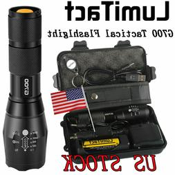 20000lm Genuine Lumitact G700 Cree L2 LED Tactical Flashligh
