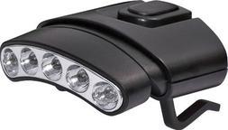 GSM Outdoors CYC-HCDT-WG  Cyclops Tilt 5 LED Hat Clip Light