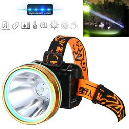 Hands Free Head Torch/Headlight LED USB Rechargeable Headlam