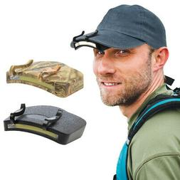 Hands Free LED Cap Light Super Bright Headlamp COB Technolog