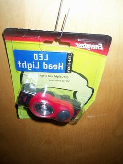 ENERGIZER HANDS FREE LED HEAD LIGHT ~LIGHTWEIGHT & BRIGHT~EL