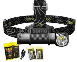 Nitecore HC30 LED 1000 Lumen Headlamp, 2 x 18650 Batteries,