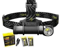 Nitecore HC30 LED 1000 Lumen Headlamp, 2 x 18650 Batteries,