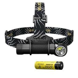 NITECORE HC33 1800 Lumens High Performance Headlamp, 3500mAh