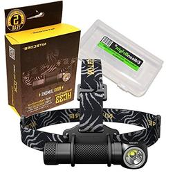Nitecore HC33 1800 Lumens CREE XHP35 LED dual-form compact h