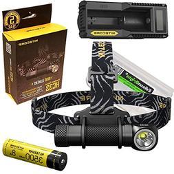 Nitecore HC33 1800 Lumens CREE XHP35 LED dual-form headlamp,