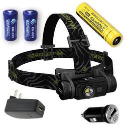 Nitecore HC60 Rechargeable LED Headlamp 1000 Lumens with Eco