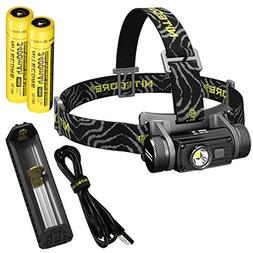 Nitecore HC60 1000 Lumen USB Rechargeable LED Headlamp with