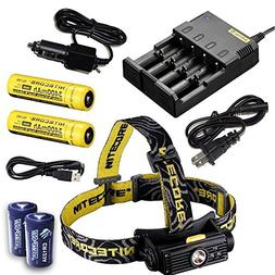 Nitecore HC90 900 Lumen CREE XM-L2 T6 LED USB rechargeable h