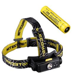 Nitecore HC90 Rechargeable XM-L2 Headlamp w/NL189 Rechargeab