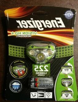 Energizer HDC32E Vision HD  LED Headlamp 225 Lumens NEW