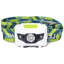 LED Headlamp - Great for Camping, Hiking, Kids, and Dog Walk