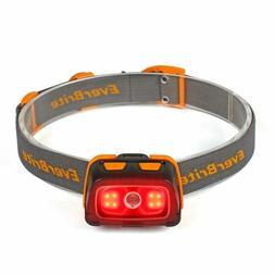 EverBrite Headlamp - 300 Lumens Headlight w/ Red/Green Light