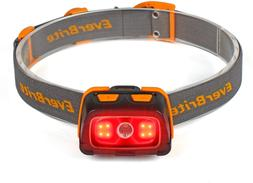 EverBrite Headlamp - 300 Lumens Headlight with Red/Green Lig