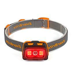 EverBrite Headlamp - 300 Lumens Headlight with Red/Green Lig