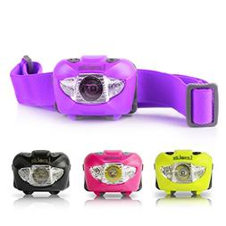 Luxolite LED Headlamp with Red Light - Brightest Head Flashl