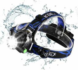 Headlamp,GRDE Rechargeable Led Headlamp Headlight Flashlight