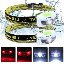 ideapro LED Headlamp Flashlight, Ultra Bright Headlamp Headl