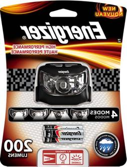 Energizer High Performance LED Headlamp with Batteries Inclu