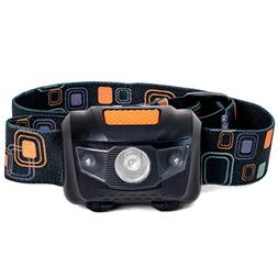 LED Headlamp Flashlight - Great for Camping, Hiking, Dog Wal