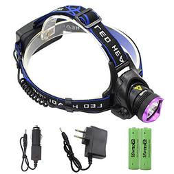 LED Headlamp - Genwiss Super Bright Head Lamp 5000 lumen Hea