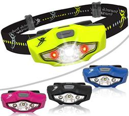 Headlamp by SmarterLife | Super Bright & Light Headlamps | C