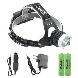 LED Headlamp - Genwiss Super Bright Head Lamp Waterproof 180