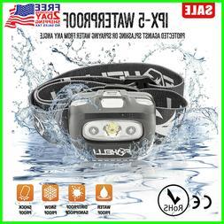 Foxelli Headlamp Flashlight - 165 Lumen, 3 x AAA Batteries O