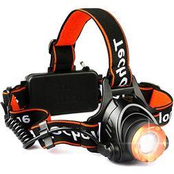 Techole Headlamp Flashlight Bright Headlight - 2000 Lumens W