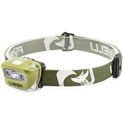 Foxelli Headlamp Flashlight - 165 Lumen, 3 x AAA Batteries O