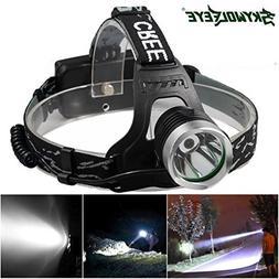 Skywolfeye 5000 Lumens Headlamp Headlight Flashlight Head Li