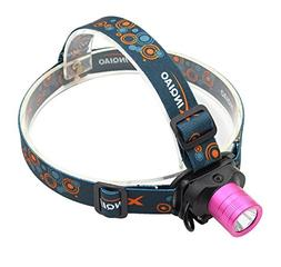 Headlamp Headlight for girls Pink - Genwiss Lightweight Head