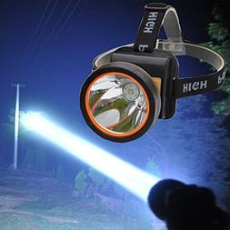 LED Headlamp 5000 Lumens Super Bright Headlight with 2 Modes