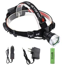 LED Headlamp Super Bright Headlight - Genwiss Lightweight 16