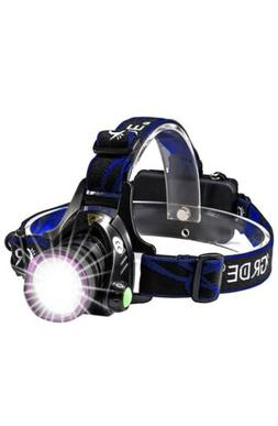Headlamp, GRDE Zoomable Brightest High LED Work Headlight 3