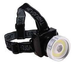 Headlamps - Super Bright Cob Led Headlamp 2 Mode Head Light