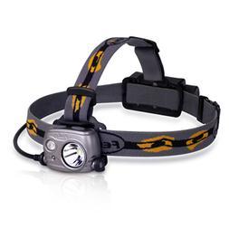 HI/LO Beam Headlamp USB Rechargeable Fenix HP25R CREE XM-L2
