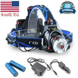 High Power LED/COB Rechargeable Light 990000LM Headlamp Tact