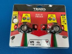 Coast High Quality Twin Pack Tri- Color Headlamps
