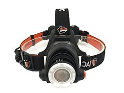1TAC HL1200 Tactical Headlamp Flashlight with Real CREE XM-L