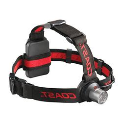 Coast HL4 Dual Color Headlamp, 3 AAA Batteries, 144 Lumens 1
